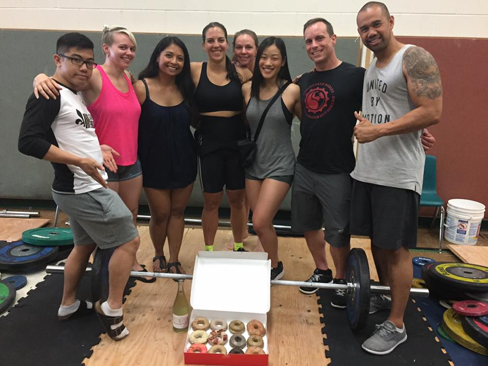 Engineered Bodies Weightlifting Competition Crew